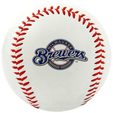 Mlb Milwaukee Brewers Logotipo Del Equipo Béisbol, Oficial,