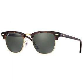 e6a3ba90c8f59 Ray Ban Clubmaster Marrom - Óculos De Sol no Mercado Livre Brasil