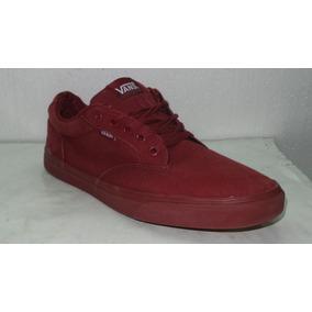 Zapatillas Vans Bordo Us 13 - Arg 46.5 Usado All Shoes