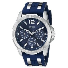 Reloj Guess Deportivo U0366g2 Hombre Azul