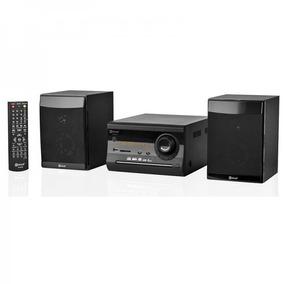 Caixa De Som Mini Sistem C/ Dvd/cd Fm Usb/sd Mp3 Estereo Top