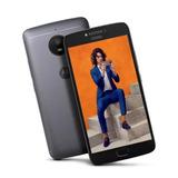 Celular Motorola Moto E4 Plus 5.5! Lector Huellas+ Funda