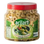 Aceitunas Verdes En Rodajas Clásicas X 1 Kg - Arilart
