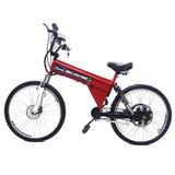 Bicicleta Elétrica Machine Motors Sport 800w 48v Vermelha
