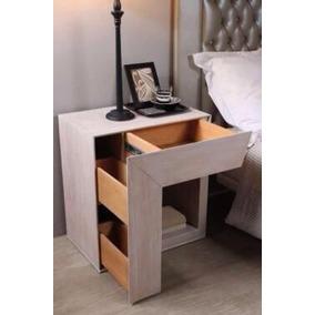 Moderno bur de madera en mercado libre m xico for Buros de cama modernos