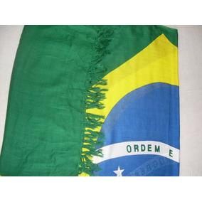 Cangas Bandeira Do Brasil Praia Verão Tropical Saída Dpraia