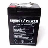 Bateria 6v 4ah P/moto Bandeirantes, Luz Emergencia Automação