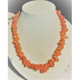 2c50dd896db5 Collar Cuarzo Aventurina Naranja - Joyas y Relojes en Mercado Libre ...