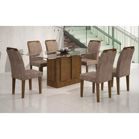 Base P/ Mesa De Jantar Amsterdã C/8 Cadeiras Athenas Rufato