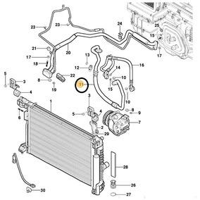 Mangueira Do Compressor Do Ar Condicionado Spin 13/17 Nova