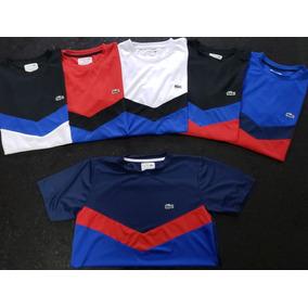 Camiseta Lacoste - Calçados, Roupas e Bolsas Prateado no Mercado ... ffa631d194