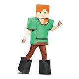 Disfraz De Alex Prestige Minecraft, Multicolor, Pequeño