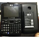 Celular Lg C299 4chip Desmontado Ap.peça Envio Pçs Td.brasil
