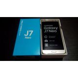 Samsung Galaxy J7 Neo Oro / 4g / Dual Sim / Nuevo / Tienda
