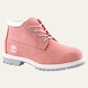 Timberland Originales Color Rosa Bebe Impecables!!!!!