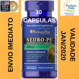 Fosfatidilserina Neuro Ps 100 Mg 30 Cps. Puritans Importado