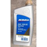Aceite Lubricante Acdelco 15w40 Mineral X Caja Diesel Gasol