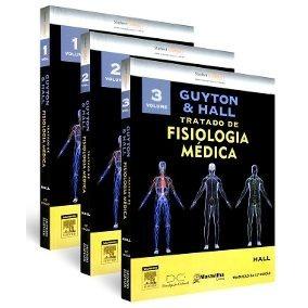 Livro Guyton & Hall: Tratado Da Fisiologia Medica 3 Volumes