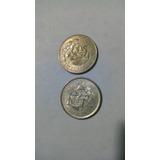 Moneda De 25 Centavos Balanza, 1950-1951-1952