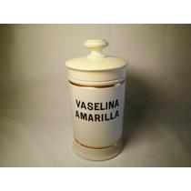 Frasco De Farmacia Porcelana Numerado Farmacia Stella Maris