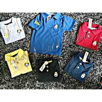 Camisa Blusa Polo Infantil Tigor T. Tigre Atacado 10 Peças