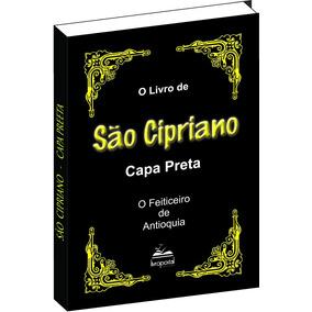 Livro De São Cipriano Capa Preta
