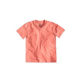 Camiseta Masculina Gola V Hering 100% Algodão 5c6gn0a00t