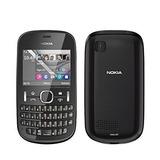 P/retirada De Pecas Celular Nokia Asha 201 Preto C/defeito