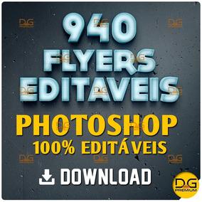 Flyers Psd 940 Modelos - Photoshop 100% Editáveis