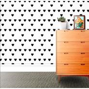 Adesivo Decorativo Coração (com 36 Unidades)