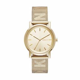 Reloj Dama Dkny Ny2621 Soho Gold-tone |envio Gratis|watchito