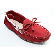 Mocassim Sapato Sapatilha Drive Fem Couro Legítimo Exclusivo