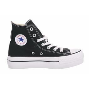 Zapatillas Converse Plataforma Hi Blk #557141c