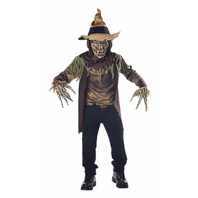 Disfraz Niño Espantapájaros Traje Terror Miedo Halloween