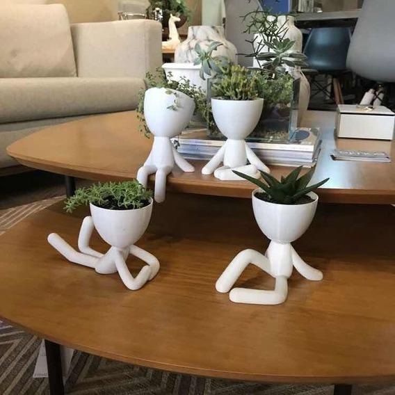 Cactus Suculentas Maceta Macetero  Set X 4 Robert Planta