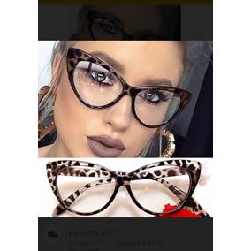 Armacao Pin Up Gatinho - Óculos no Mercado Livre Brasil d3e930ef63