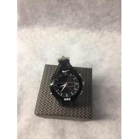 Reloj Nike Doble Tiempo Color Negro Para Caballero Con Luz