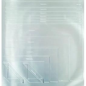 Régua Cartonagem Encadernação Acrílico Tecnicryl