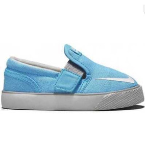 Zapatillas Bebe Nike Panchas Celeste Unisex