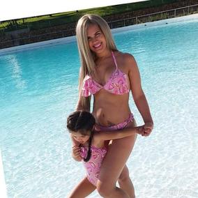 Duo Mama Hija Traje De Baño Mom & Girl De Meses A 8 Años