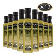 Aceite De Oliva Extra Virgen Yancanelo Botella 250 Ml X 12 U