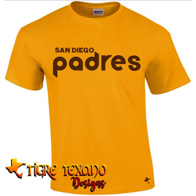 Playera Beisbol Mlb Padres S D Mod I By Tigre Texano Designs