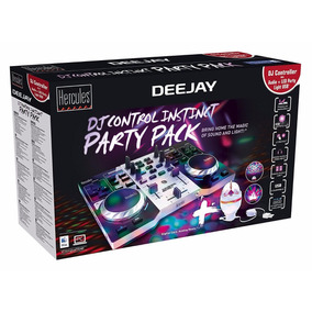 Consola Hercules Dj Instinct Party + Placa Sonido + Envio