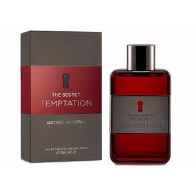 The Secret Temptation Antonio Banderas Masculino-laçamento