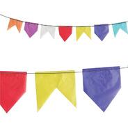 Bandeira Junina Seda 100 Metros Colorida