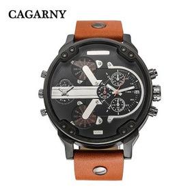 Reloj Caballero Cagarny 6820 Varios Colores Disponibles