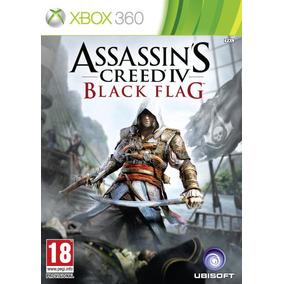 Jogo Lacrado Assassin´s Creed 4 Black Flag Pra Xbox 360
