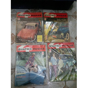 Coleção 50 Revistas Quatro Rodas Nr 1 A Nr 50