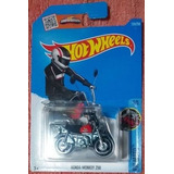 Honda Monkey Z50 Vermelha Hot Wheels Moto 2016 135/250