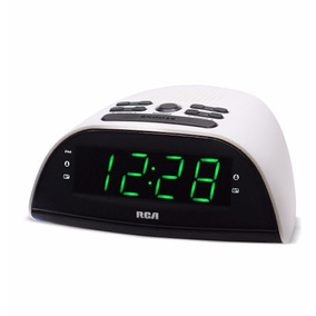 Radio Reloj Fm / Am Despertador Rca Rp-2870pl Funcion Sleep